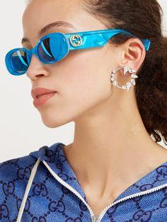 Cool Sunglasses, Gucci Sunglasses, Sunglasses Women, Sunnies, Eyewear Trends, Gucci Eyewear, Estilo Jenner, Student Fashion, Vintage Gucci