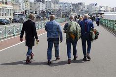 Skinheads in Brighton. Skinhead Men, Skinhead Boots, Skinhead Fashion, Skinhead Style, Skin Head, Northern Soul, Working Class, Way Of Life, Punk Rock