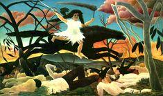 la geuerre Henri Rousseau