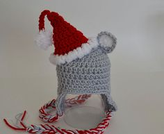 Santa Mouse Hat - Free by Christins from My Sweet Potato 3
