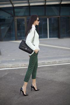 emerald pants - love