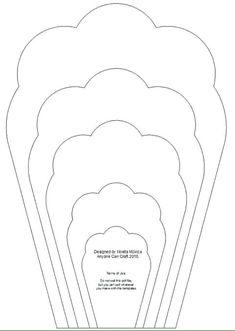 All 20 pdf svg diy giant paper flower template pinterest moldes para flores de papel templates flowers template molde de flor para forminha de papel crepom mightylinksfo