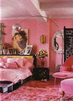 Betsey Johnson's bedroom
