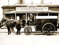 1900-Horse-Drawn-Ambulance-Sydney-Australia-Vintage-Photograph-8-5-034-x-11-034 Old Family Photos, Old Photos, Horse Drawn, Sydney Australia, Ambulance, Vintage Photographs, Horses, Image, Old Pictures