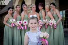 flower girl in charge. Charlotte Wedding Photography by Fusion Photography Studio. Click photo for our full image gallery.