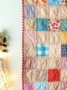 Alicia Paulson's Swedish summer quilt; darling!!