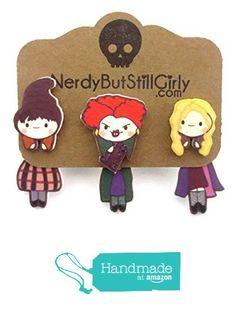 Witches Cling Earrings from Nerdy But Still Girly http://www.amazon.com/dp/B019ZFLG5S/ref=hnd_sw_r_pi_awdo_1.GYwb0Z2PVXA #handmadeatamazon