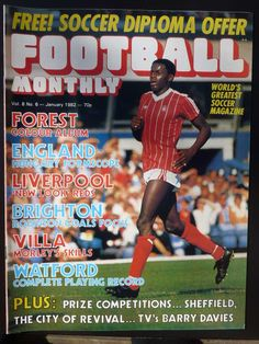 Nottingham Forest Fc, Forest Color, Vintage Football, Watford, Magazine Articles, Liverpool, Magazines, Competition, January
