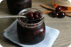 Spiced Boozy Cherries | Cooking In Stilettos