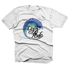 Our Enjoy the Ride watercolor design is for the layed back, chilled out and easy going kiddos. www.finfirstmb.com