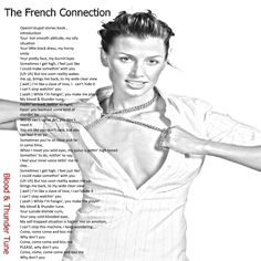 """Hello ! This is The French Connection . Watch """"Blood & Thunder Tune at https://www.youtube.com/watch?v=D9uPxCDxa6k Keep in Touch ."""