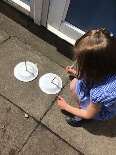 Making sun dials
