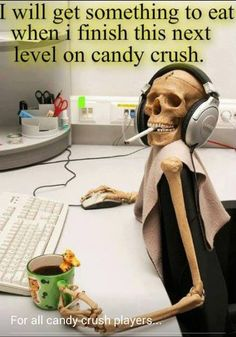 Geek Humor | For all Candy Crush players | From Funny Technology - Google+ via Patrick Clifton