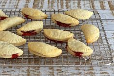 Cream Cheese Cookies With Jam Filling