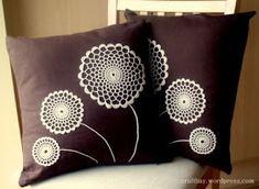 48 Trendy Sewing For Beginners Pillows Crochet Cushion Cover, Crochet Cushions, Sewing Pillows, Crochet Pillow, Diy Pillows, Crochet Doilies, Cushion Covers, Decorative Pillows, Boho Pillows
