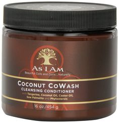 As I Am Coconut Cowash Cleansing Conditioner. Check out uhsupply for a complete line of natural hair care products at discount prices #naturalhair