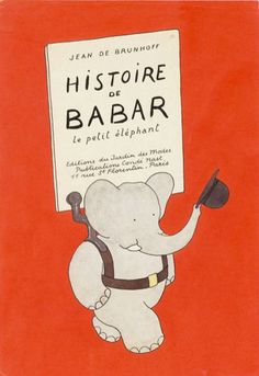 Babar - one of my first books.