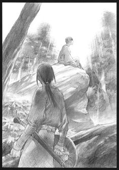 Hiroaki Samura, Blade of the Immortal, BotI Illustration Collection, Hisoka Ibane, Anotsu Kagehisa
