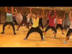 """GO GIRL"" Pitbull - Dance Fitness Workout with Weights Valeo Club Toning - YouTube"