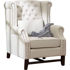 Found it at Joss & Main - Winston Tufted Arm Chair