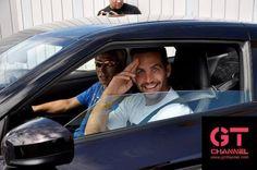 Paul Walker and Vin Diesel goofing around!
