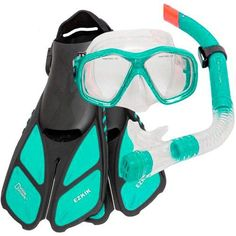 Shoe Size Small/Medium Large/XLarge Mens 4.5 - 8.5 9 - 13 Ladies 5.5 - 9.5 10+ - Description - Features This National Geographic Snorkeling Set includes the travel friendly Ezkik Fins along with a hig