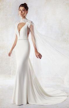 Courtesy of Eddy K Wedding Dresses; www.eddyk.com; Wedding dress idea. #weddingdresses