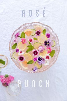 rosé punch recipe