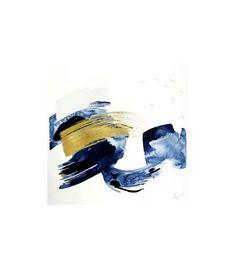 Beth Winterburn Original Abstract Indigo Series I