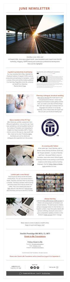 June Newsletter Hello July, Professional Development, News Blog, Greek, June, Train, Continuing Education, Greece, Strollers
