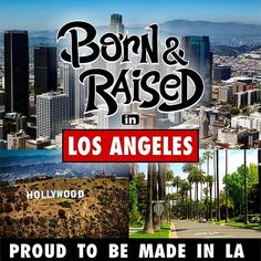 'Born & Raised in Los Angeles' by mistergoodiez Framed Prints, Canvas Prints, Art Prints, Los Angeles Hollywood, Art Boards, Neon Signs, Gift Ideas, Art Impressions, Photo Canvas Prints