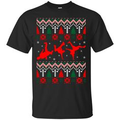 Dancing Break Dance Ugly Christmas Sweater Xmas. Product Description We use high quality and Eco-friendly material and Inks! We promise that our Prints will not Fade, Crack or Peel in the wash.The Ink will last As Long As the Garment. We do not use cheap quality Shirts like other Sellers, our Shirts are of high Quality and super Soft, perfect fit for summer or winter dress.Orders are printed and shipped between 3-5 days.We use USPS/UPS to ship the order.You can expect your package to…