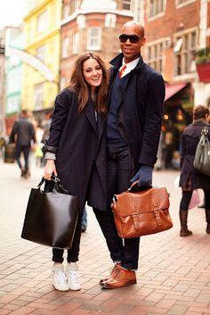 Wardrobe's Secrets: Street Style Couple