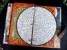 art journal inspiration Illustration Date Smash Book, Art Journal Pages, Art Journals, Journal Cards, Altered Books, Altered Art, Altered Tins, Art Altéré, Art Doodle