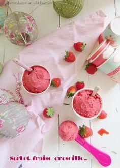 Sorbet fraise-groseille