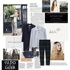 """720. I'll do it later."" by hortensie on Polyvore"