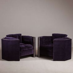 A Pair of Octagonal Framed Armchairs by Talisman Bespoke image 2