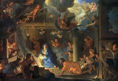 Charles Le Brun: L'Adoration des bergers