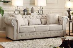 Savonburg Collection Sofa 8427-3 - Pearl Igloo