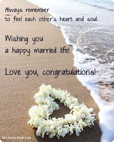 Short Wedding Wishes, Quotes & Messages (With Images) Happy Wedding Wishes, Wedding Wishes Messages, Wedding Card Quotes, Wedding Greetings, Wedding Gifts For Friends, Wedding Cards, Wedding Anniversary Prayer, Marriage Anniversary Cards, Anniversary Wishes Quotes
