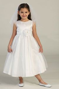 First holy communion or flowergirl dress with bolero is exquisite ...