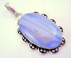 Botswana Agate .925 Silver Handmade Pendant Jewelry 20 Gr. #Handmade #Pendant