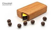 チョコボール木製ケーストップ