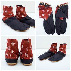 Kamakura Kamon Japonista Sole Jika Tabi Shoes - Japan Lover Me Store Tabi  Shoes caed85f1f