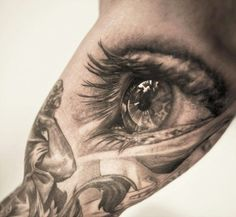 Eye Tattoo – Niki Norberg | Fonda LaShay // Design