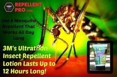 3M's Ultrathon Insect Repellent Lotion! Time Release Protection Up to 12 Hours!