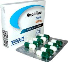 Ampicilina, PA Ampicilina. Infección ORL, respiratoria, odontoestomatológica, gastrointestinal, genitourinaria, de piel y tejido blando, neurológica, cirugía, traumatología, meningitis bacteriana y septicemia.