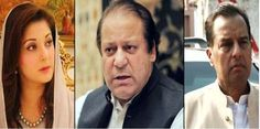 Former Prime Minister Nawaz Sharif reached the Accountability court for appearing in the NAB references with his daughter Maryam Nawaz............