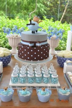Hostess with the Mostess® - pilot bear baby shower
