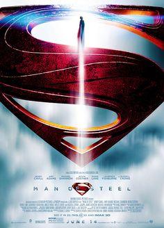 Man of Steel Poster   #movies #manofsteel #dc